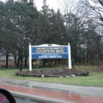 Hampton Bays Welcome Sign
